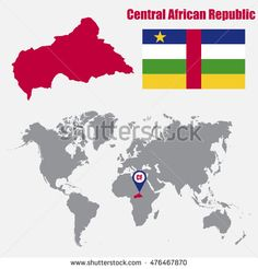 Find Central African Republic Map On World stock images in HD and millions of other royalty-free stock photos, illustrations and vectors in the Shutterstock collection. Thousands of new, high-quality pictures added every day. The Neighbourhood, Royalty Free Stock Photos, African, Map, World, Pictures, The World, Photos, The Neighborhood