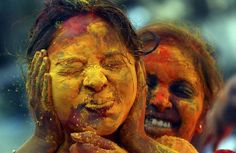 Holi festivities in Mumbai