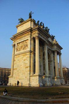 Il nostro meraviglioso Arco della Pace visto da Stefano De Vivo #milanodavedere Milano da Vedere