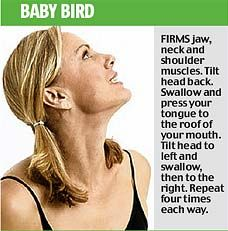Facial yoga's the new craze for losing wrinkles... but be prepared to look ridiculous   Mail Online