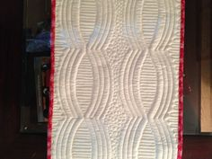 This is the table runner pattern that is included with the Quick Curve Ruler from Sew Kind of Wonderful by Jenny Pedigo.  I have fallen in love with the modern style of quilting and am fascinated by...
