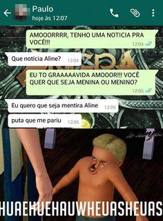 Uma boa noticia para o namorado.  Porra Aline!  The post Uma boa noticia para o namorado. appeared first on Le Ninja.