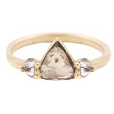Polly Wales Polaris Diamond Ring // ESQUELETO