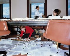 Lars Tunbjörk, Lawyer's Office, New York, 1997