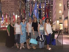 At the Rockefeller Center in NYC with fellow Golden Heart finalists. RWA 2015.