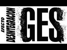 corel draw - efecto desintegracion - YouTube