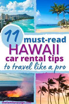 Don't miss these Hawaii travel tips if you're planning on renting a car in Hawaii! We'll cover everything you need to know for a smooth Hawaii car rental. Start your Hawaii trip off on the right foot! | Hawaii rental car | Hawaii vacation tips | Hawaii travel inspiration | Hawaii travel planning | Oahu travel planning | Maui travel planning | Kauai travel planning | Big Island travel planning | Hawaii travel guide | Hawaii trip planning