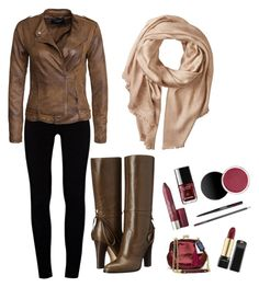 """Fall outfit again"" by szabo-dominika on Polyvore featuring J Brand, VILA, SJP and Michael Stars"