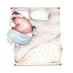 m^me endormis les papas savent tout faire