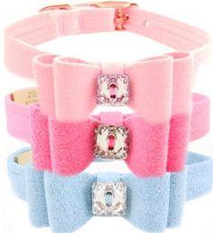 Designer Swarovski Dog Collar - The perfect pet accessort! Made in USA