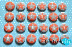 Blog Tintenelfe.de - Adventskalender-Buttons in meinem Dawanda-Shop #advent #adventskalender #adventskalenderzahlen #buttons #pins