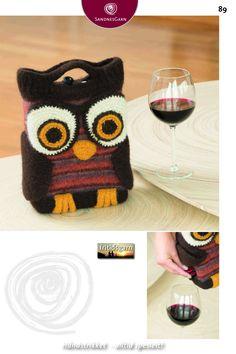 Knit Crochet, Knitting, Bags, Crocheting, Fashion, Wine, Handbags, Crochet, Moda