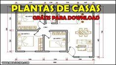 PLANTAS DE CASAS - Vários projetos para download! | Meia Colher