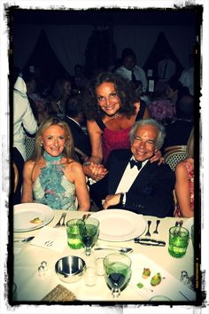 Ricky Lauren, Diane von Furstenberg and Ralph Lauren - CFDA Fashion Awards 2008