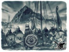 They came from the North... the Vikings by thecasperart.deviantart.com on @DeviantArt