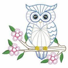 Vintage Owls 05(Sm) machine embroidery designs