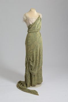 Callot Soeurs evening dress, 1911-13 From the State Hermitage Museum
