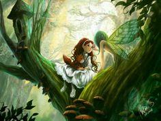 Sasha and the fairy by Melanie Sie