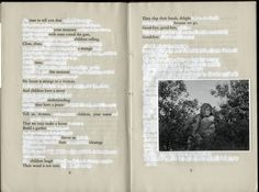 Love Found Poetry/Altered Book  inspiration archives: Raymond Meeks