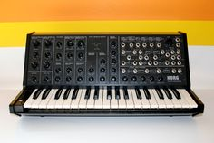 Korg - I would kill for one Synthesizer Music, Vintage Synth, Recording Equipment, Drum Machine, Music Production, Sound & Vision, Anarchy, Studios, Music Instruments