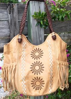THE SAK Indio Fringe Lrg Camel Tan Leather Sun Boho Hobo Bucket Tote Purse Bag in Clothing, Shoes & Accessories, Women's Handbags & Bags, Handbags & Purses | eBay