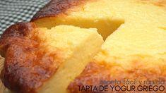 Tarta 🍰 de yogur griego.🍦 4 INGREDIENTES y 5 MINUTOS  de trabajo. Apple Desserts, No Bake Desserts, Dessert Recipes, Tart Recipes, Greek Recipes, Cooking Recipes, Yogurt Cake, Cakes And More, Cooking Time