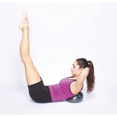 #FLXBall Abdominal Flexion Exercise! #FLXtip For an added challenge lower your legs away from you