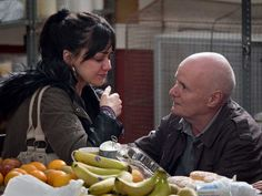 Hayley Squires and Dave Johns in a scene in a foodbank from Ken Loach's I, Daniel Blake Reality Distortion Field, Tory Party, Welfare State, Drama, Jennifer Jones, Bbc Broadcast, Working Class, Films, La La Land