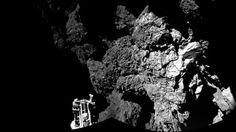 The Philae lander on the distant comet 67P has re-established radio contact with its orbiting Rosetta satellite and is sending data from the surface. It ends a tense wait for the European Space Agency (Esa), amid fears that the lander\'s battery was about to die. Scientists will be most keen to see if the probe has managed to get a surface sample of the comet with its drill. Philae descended to 67P on Wednesday - the first time such a feat has been achieved. The probe has been sending ...
