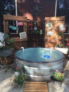 Stock Tank Pool Ideas In Backyard 6