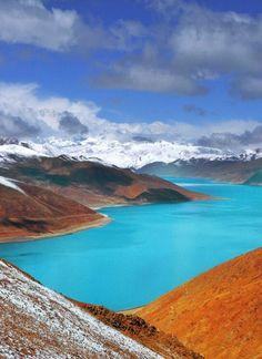 Lago Yamdrok, Tibet