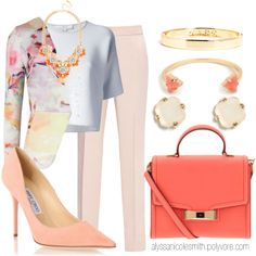 """""""Spring Outfit - All BaubleBar Jewelry"""" by alyssanicolesmith on Polyvore"""