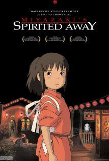 Top Ten Japanese Animation Movies of All Time: Spirited Away, written and directed by the great Hayao Miyazaki, was the first anime to win an Academy Award. It was released by Studio Ghibli, Inc., which was co-founded by Miyazaki and Isao Takahata. Spirited Away Poster, Miyazaki Spirited Away, Hayao Miyazaki, Great Films, Good Movies, Watch Movies, Amazing Movies, Film Watch, Movies Free