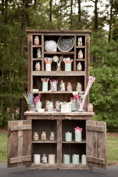 candy bar! .... rustic wedding  cmcdadephotography.com/
