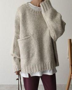 Cardigan Knitting Blogs, Knitting Designs, Knitting Patterns, Knit Fashion, Mode Style, Pulls, Knitwear, Knit Crochet, Winter Fashion