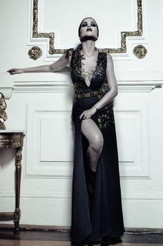 - Baroqueen - para Maison A  Ph: Lucas Freitas; Make: Kátia Freie; styling: Helbhdson Lopes