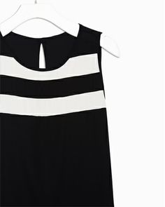 b & w, some stripes, open back..top..love