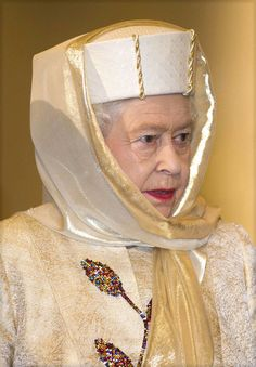The Queen Visits Abu Dhabi