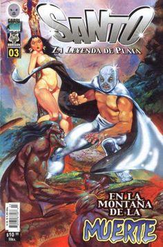 Comic book cover El Santo - Mexican comic book