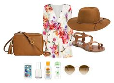 """""""Goodlife 2"""" by annnaedwards ❤ liked on Polyvore featuring Steve Madden, Rhythm., Ray-Ban, Essie and AT&T"""