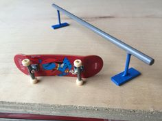 how to make easy tech deck ramps