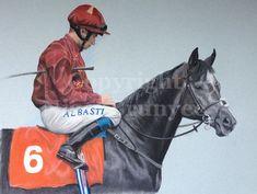 Official website of the equine portrait artist Nigel Brunyee. Roaring Lion, Prado, Horse Racing, Horses, Portrait, Artist, Artwork, Animals, Work Of Art