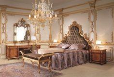 Exemple parfait de la chambre baroque ancienne