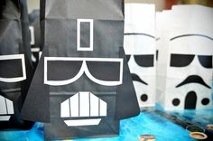 stars wars party favor bags