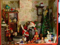 Christmas roombox 1:12 scale | Flickr - Photo Sharing!