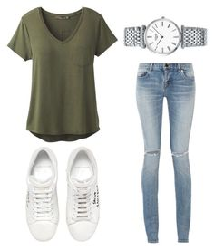 """Bsc"" by fdaraiza on Polyvore featuring prAna, Yves Saint Laurent and Longines"