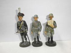 Konvolut 3 alte Hausser Elastolin Massesoldaten General Mackensen Offiziere 7cm | eBay