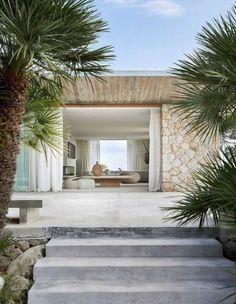 The Beach People, Interior Exterior, Exterior Design, Cabinet D Architecture, Australia Beach, Natural Interior, Beach Shack, Modern Coastal, Facade House