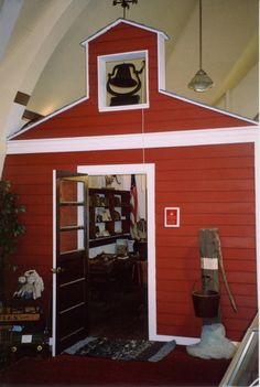This is cool a old fashioned school house for your kids to do there school in at your house