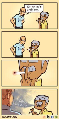 No smoking by RandoWis